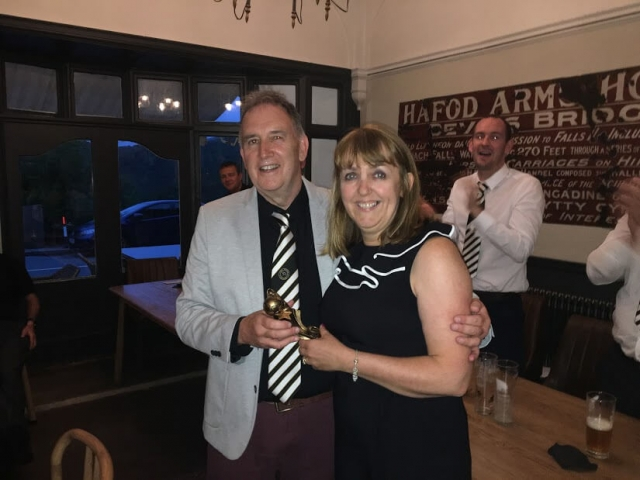 Clubman of the Year - Ann Williams