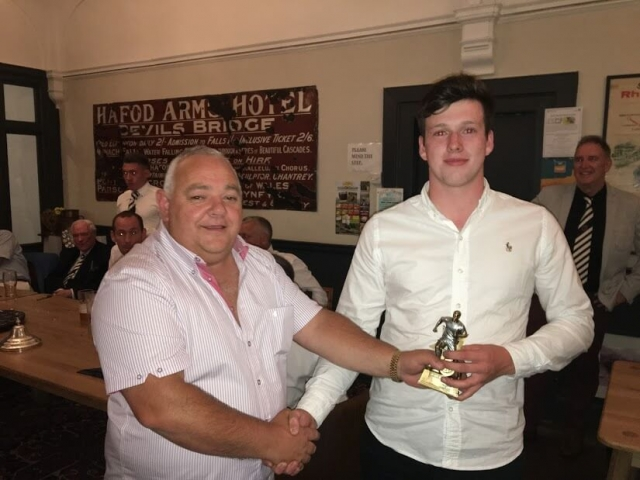 U19's Managers Player of the Year - Gethin Williams