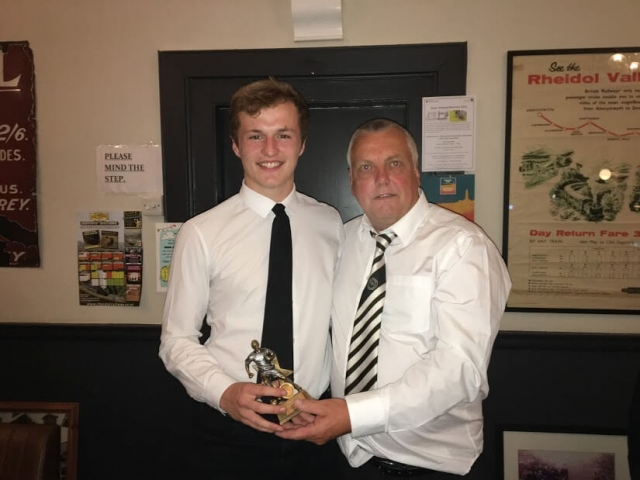Reserve Team Managers Player of the Year - Osian Rees-Jones