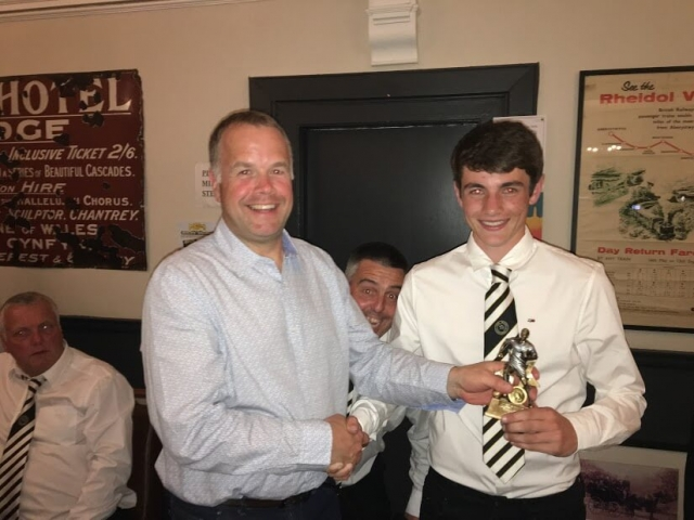Most Improved Young Player - Ryan Evans