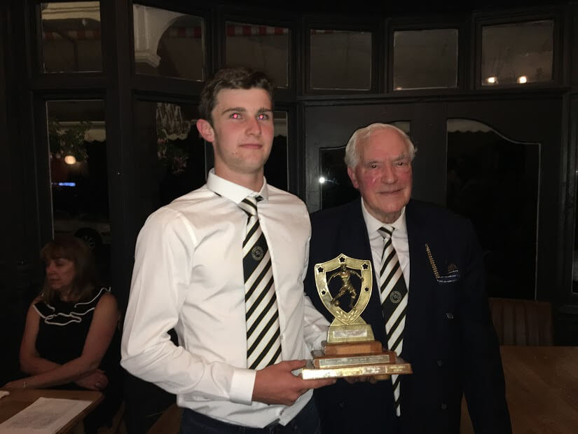 Young Player of the Year - Tomos Evans