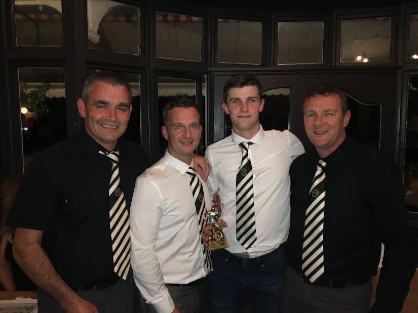 First Team Players Player of the Year - Tomos Evans